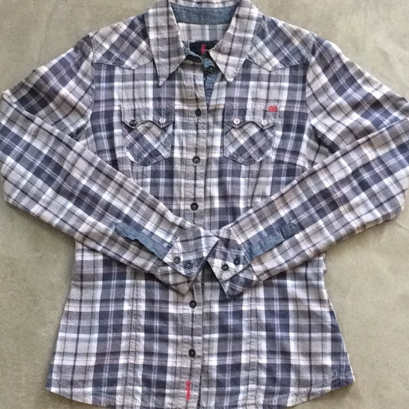 sale order online most popular Tom Tailor cotton plaid shirt